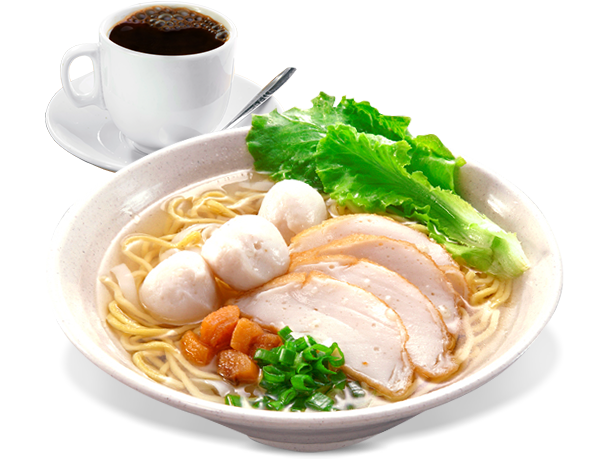 Fishball Noodles Set